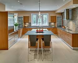 U Shaped Kitchen Layout With Island