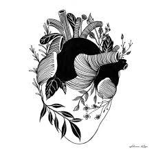Hennkim Henn Art Illustration Drawing Sketch Black White Pen