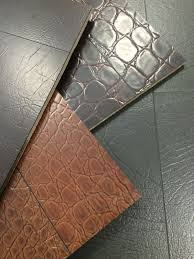 luxurious leather flooring by torlys
