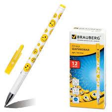 <b>Ручка шариковая Brauberg Smiles</b> 0.7мм синяя арт.141534   ООО ...