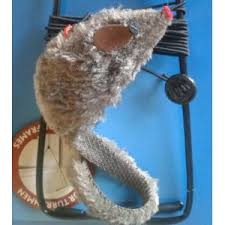 <b>Игрушка</b> для кошек <b>Trixie Мышь на</b> резинке, крепящаяся на ...
