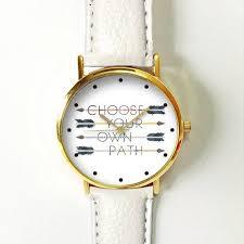 Watch Quotes Beauteous Arrow Watch Women Watches Leather Watch Boyfriend Watch Ladies