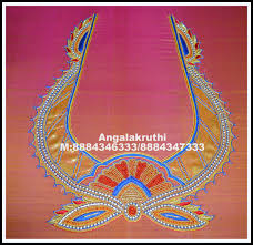 Full Embroidery Blouse Designs Full Hand Embroidery Blouse Designs Rldm