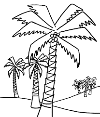 Small Picture Coloring Pages Palm Tree Coloring Pages To Print Coloring Home