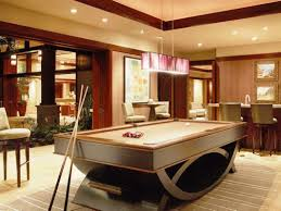 Creative Pool Table In Living Room On House Design Ideas