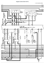 lexus v8 1uzfe wiring diagrams for lexus ls400 1993 model engine 1uzfe engine control part 5 of 7 page 001