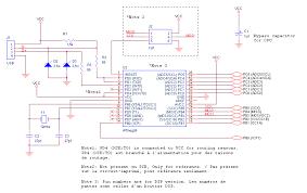 sega saturn controller to usb adapter schematic