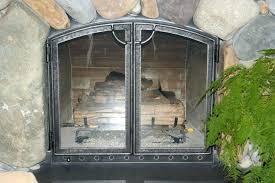 custom fireplace doors wood burning fireplace glass doors glass fireplace doors custom fireplace screens