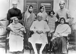 nehru gandhi family