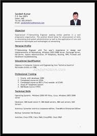 12 Resume Format For Job Application Abroad Cover Letter