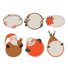 Holiday Gift Tags Digital Set