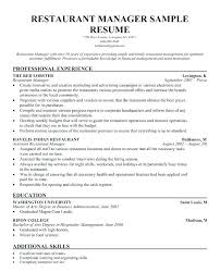 Food And Beverage Resume Examples Dew Drops