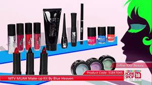 home18 mtv muah make up kit by blue heaven