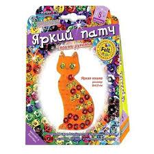 <b>Набор для творчества Клевер</b> патч Яркая кошка – выгодная цена ...