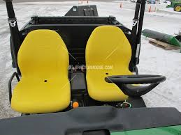 pair of high back yellow seats 855d 850i 625i 825i 4x4 6x4 john john deere gator high back seat covers