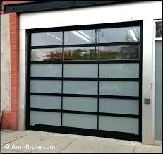 Clear Garage Doors Glass Garage Door For Popular Aluminum Clear