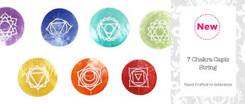 7 chakra capiz string home gifts