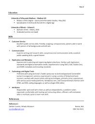 Resume Resume Librarian