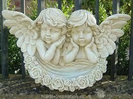 angel bowl garden ornament cherub