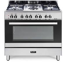 Electric gas stove Chulha Elba 90cm Stainless Steel Gaselectric Stove 019cx727n Hirschs We Will Save You Money Hirschs Elba 90cm Stainless Steel Gaselectric Stove 019cx727n Hirschs