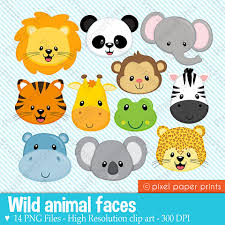 wild animals clipart.  Animals Shop For Wild Animals Clipart On Etsy The Place To Express Your Creativity  Through Buying And Selling Of Handmade Vintage Goods Throughout Wild Animals Clipart N