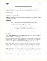 How To Format A College Paper How To Write College Application Essay Format Admissions For