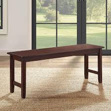 Amazoncom Farmhouse Dining Bench Long Wood Seat For Kitchen
