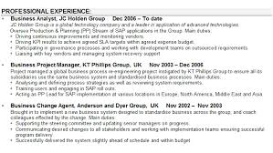 Test Analyst Cv Sample Business Sample 2 Essential Furthermore Order