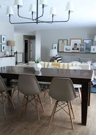 molded plastic chairs for every style and budget and in our dining room too