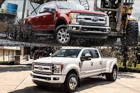 2018 ford f 250 vs 2018 ford f 350