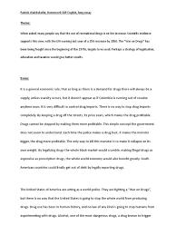 drug essay legalizing drug essay term paper help wuessayvsgy teleteria us about