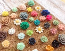 office decors. Floral Thumbtacks, Mix, Choose Your Amount, Push Pins, Decorative, Office Decor Decors