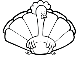 turkey coloring pages printable unique thanksgiving to color free sheets colored