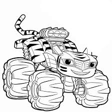 Free Blaze And The Monster Machines Coloring Pages Worksheet Get