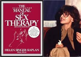 Sex Therapist Dr. Helen Singer Kaplan Promotes Love | by Judy Flander | The  Judy Flander Interviews | Medium