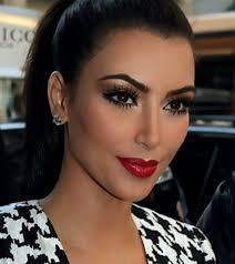 kim kardashian makeup tutorial makeup smokey eyes