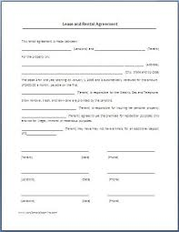 Hunting Rental And Lease Form Gorgeous Printable Sample Renters Lease Agreement Form Real Estate Forms