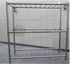 kitchen utensil rack wall mounted restaurant storage shelves