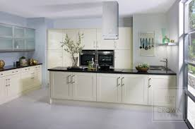 Cream Shaker Kitchen Cabinets Storages Amazing White Bright Shaker Style Wooden