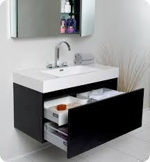 36 inch black bathroom vanity. marvellous modern bathroom vanities and cabinets fresca mezzo black vanity with medicine cabinet 36 inch e