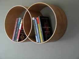round shelving unit reclaimed wood shelf wall shelf