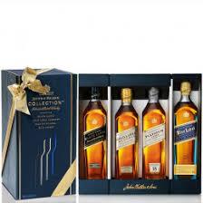 johnnie walker collection pack 4 bottles of 200ml gift set plementary elegant packaging