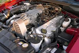 File:2003 Ford Mustang Cobra 32v Supercharged engine.jpg ...