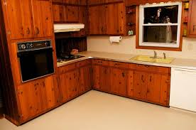 amber39s 1961 knotty pine kitchen before and after retro