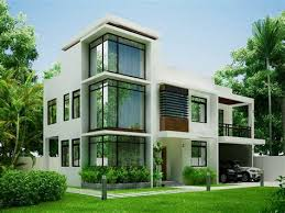 modern contemporary house plans. Brilliant Contemporary White Modern Contemporary House Plans MODERN HOUSE PLAN With O