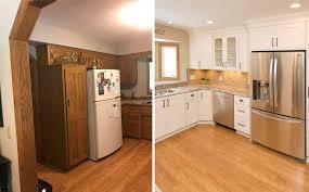 Updating Oak Cabinets Doors Floors Trim Living With Oak 101