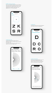 Are All Eye Exam Charts The Same Project Vision Accessible Vision Test At Home Ux Collective