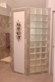 doorless walk in showers with glass blocksopen shower stall diy shower door  ideas bathroom with doorless