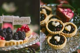 irish destination wedding inspiration · ruffled Wedding Inspiration Ireland blackberry wedding desserts photo by paula ohara s ruffledblog com Ireland Cliff Wedding
