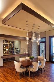 modern dining room with false ceiling designs and suspended lamps  http://www.bykoket.com/projects.php | For the Home | Pinterest | Ceilings,  Modern and Room